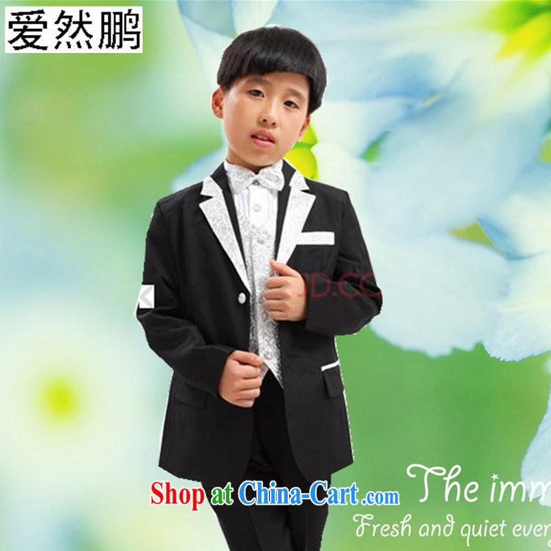 Children's flower dress boy children suit boy Dress Suit set black Phnom Penh 150