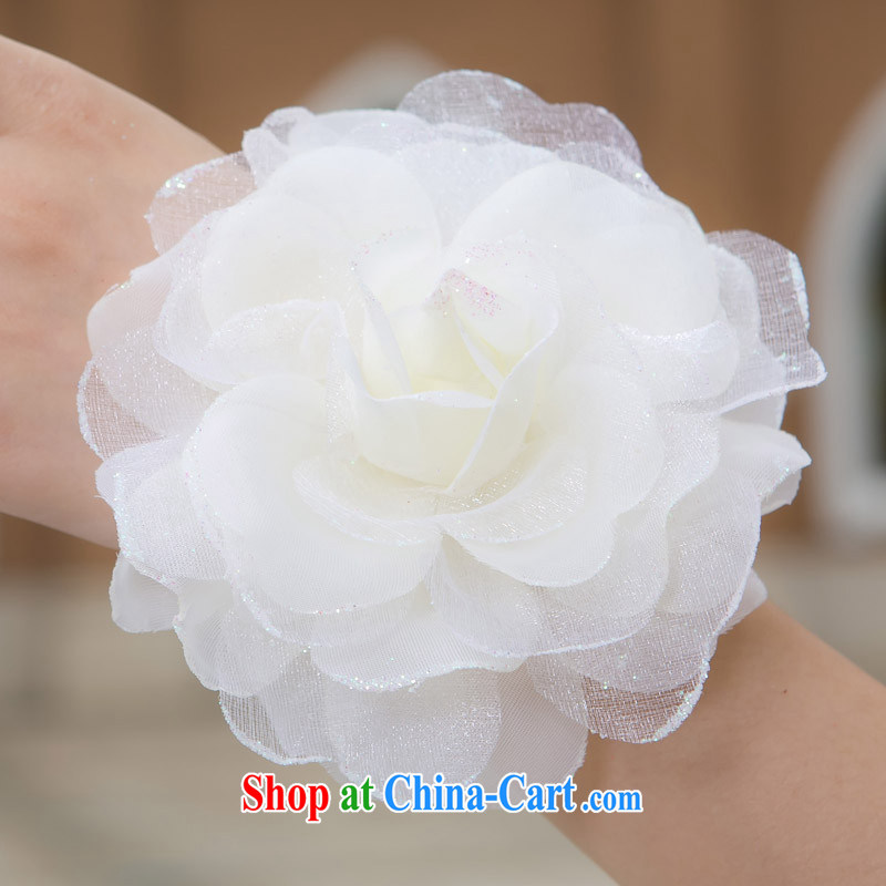 wedding dresses accessories of the bride's hand take bridesmaid sister flowers wedding supplies multi-color