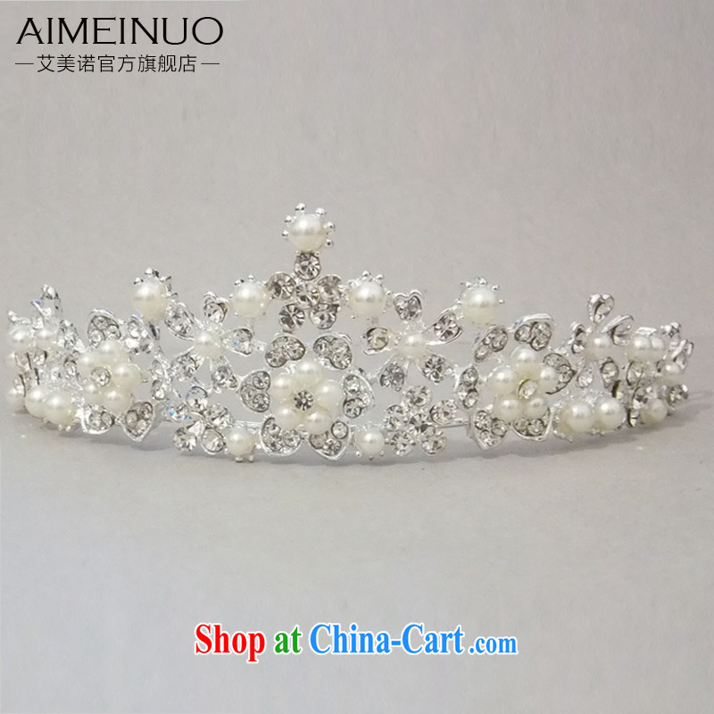 The United States and the marriages Crown head-dress wedding dresses accessories pearl jewelry, Korean-style New 2015 new G - 155