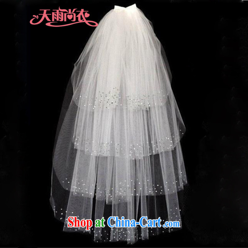 Rain is still Yi Ying House photography accessories bridal wedding style wedding accessories/light, decorated with layer 4 M white head yarn TS 16 m White layer 4