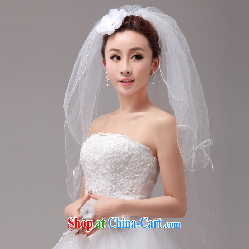 MSLover only small fresh layer 2 butterfly wedding dresses accessories marriages and yarn TS 131,102 head dresses and flower Ring Kit