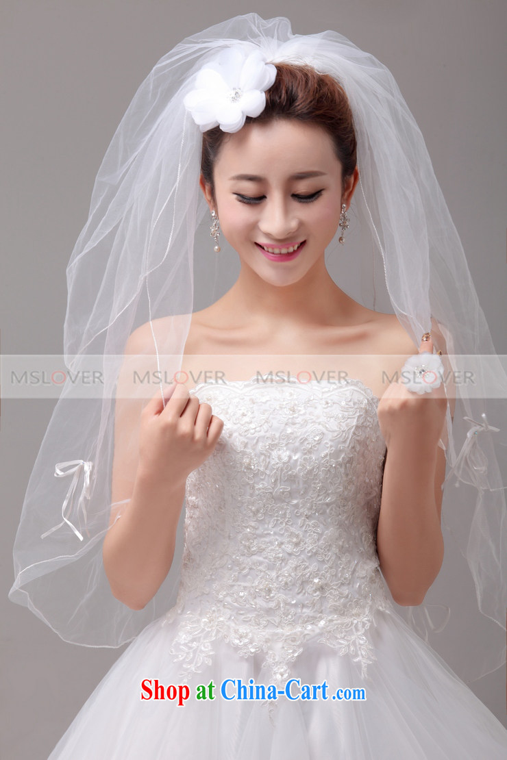 Mslover Only Small Fresh Layer 2 Erfly Wedding Dresses Accessories Marriages And Yarn Ts 131 102 Head