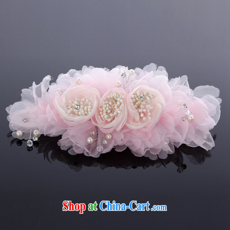 MSLover pink bridal wedding accessories and ornaments hair accessories bridal and flower ornaments TH 130,727 pink