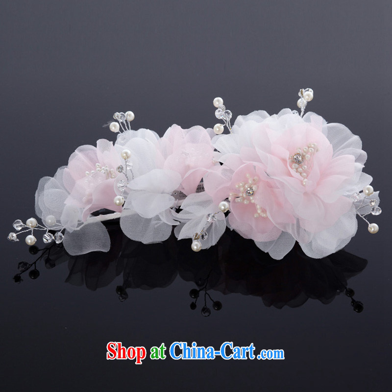 MSLover bridal wedding accessories and ornaments HAIR ACCESSORIES bridal and flower ornaments TH 130,725 pink