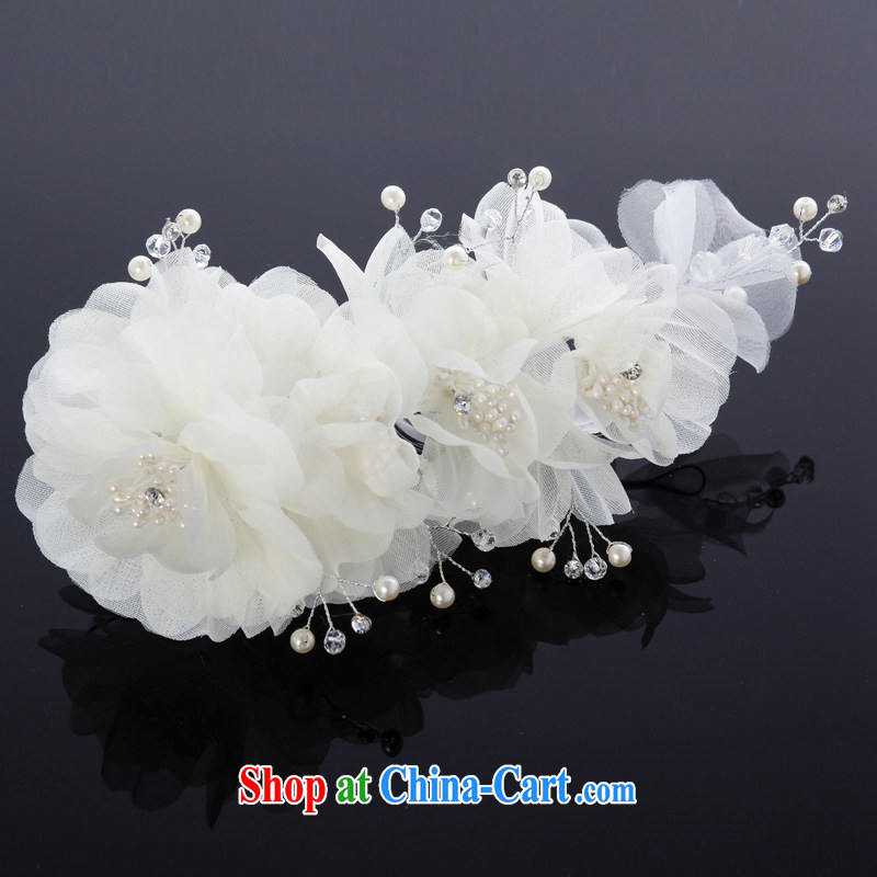 MSLover A Midsummer Night's Dream bridal wedding accessories and ornaments HAIR ACCESSORIES bridal and flower ornaments TH 130,717 white