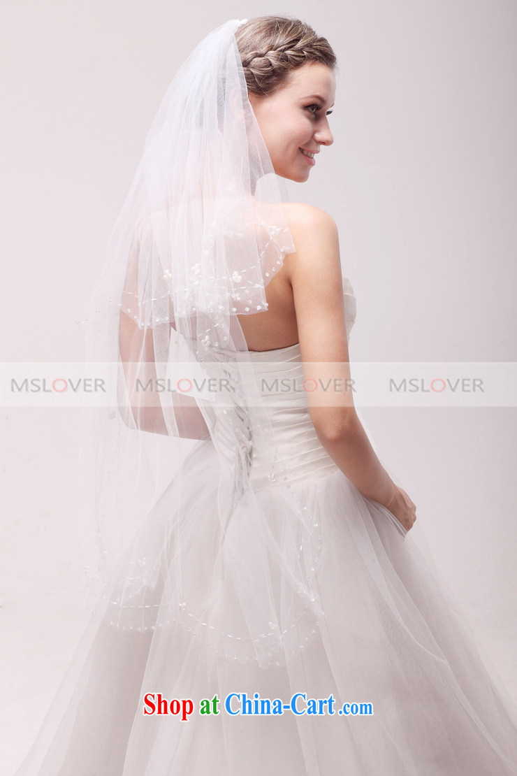 Manually MSLover beaded edge 1M 2-Layer wedding dresses accessories marriages and ornaments, ornaments and yarn TS 120,326 white pictures, price, brand platters! Elections are good character, the national distribution, so why buy now enjoy more preferential! Health