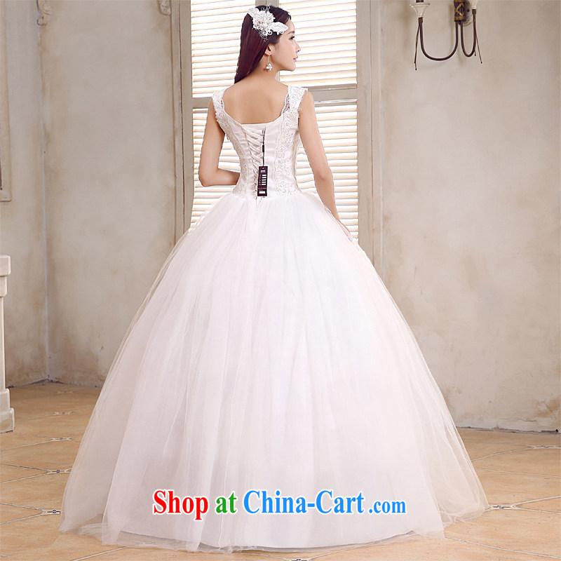 Honeymoon bridal 2015 new wedding elegant double-shoulder wedding new sweet Princess with strap wedding white XL, Honeymoon bridal, and, on-line shopping
