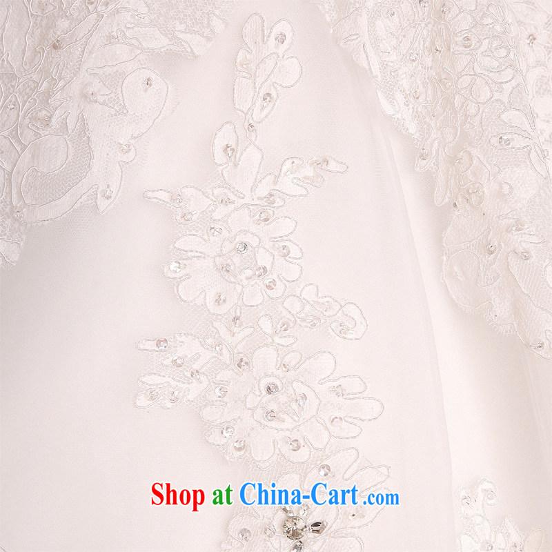 Honeymoon bridal wedding dresses 2015 new dream lace wedding with Korean-style wedding white XL, Honeymoon bridal, shopping on the Internet