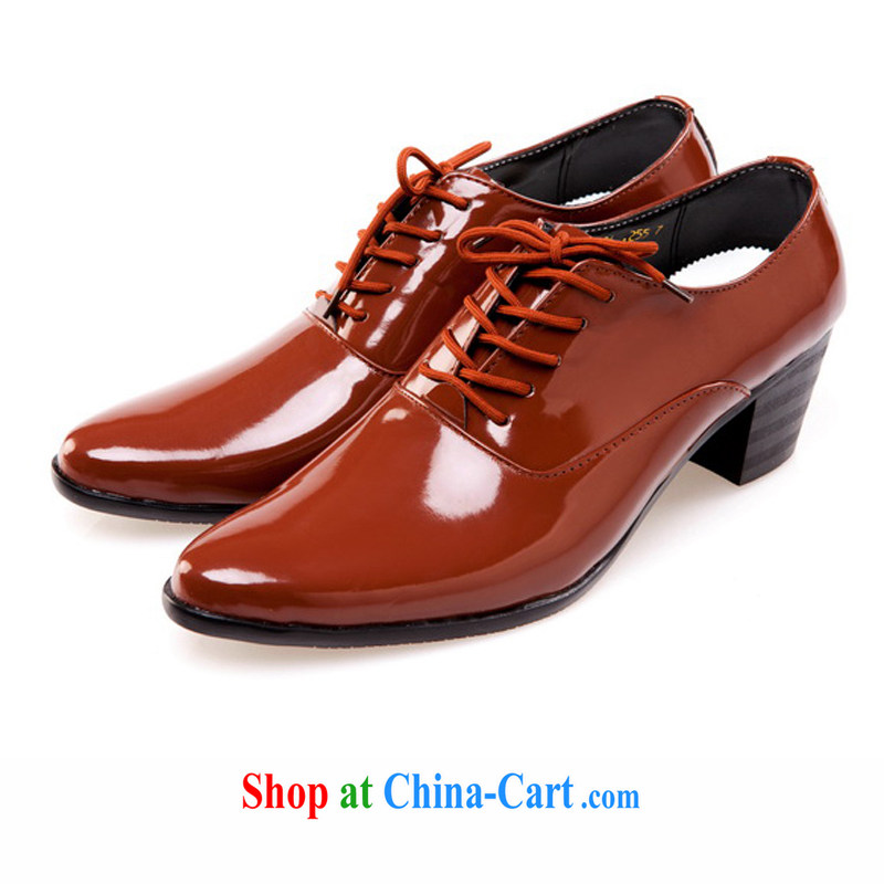 Rain is still Yi bride groom increase men's shoes the groom wedding shoes men shoes wedding photo building photos show shoes men's shoes white 44, rain is clothing, and shopping on the Internet