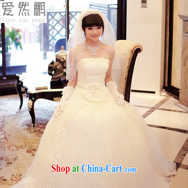 Love, Norman wedding dresses 2014 new high quality lace wedding perfect Korean Princess Mary Magdalene stylish chest wedding champagne customer size made no final