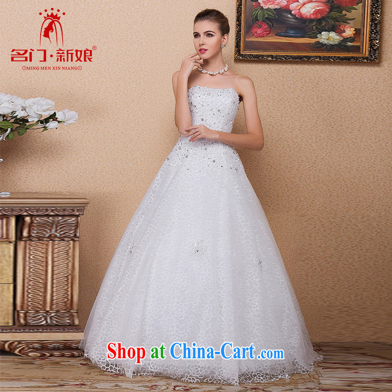 The bride's 2015 new wedding manually staple Pearl A Field dress wedding with wedding 541 M