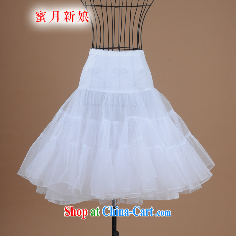 Honeymoon bride small shaggy skirt stays short skirts bone stays skirt ballet skirt short wedding professional skirt stays white