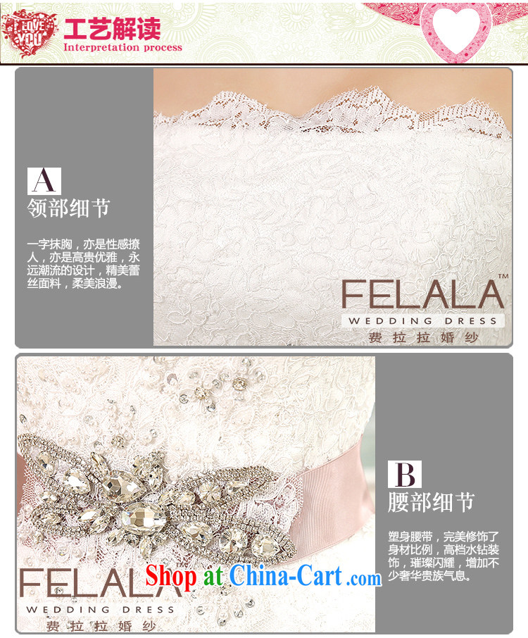 Ferrara ♀ 2015 new wedding dresses with bare chest Korean-style wedding the waist graphics thin wedding summer XL (2 feet 2) pictures, price, brand platters! Elections are good character, the national distribution, so why buy now enjoy more preferential! Health