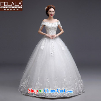 Ferrara 鈾� 2015 new wedding dresses with bare chest Korean-style wedding the waist graphics thin wedding summer XL (2 feet 2) pictures, price, brand platters! Elections are good character, the national distribution, so why buy now enjoy more preferential! Health