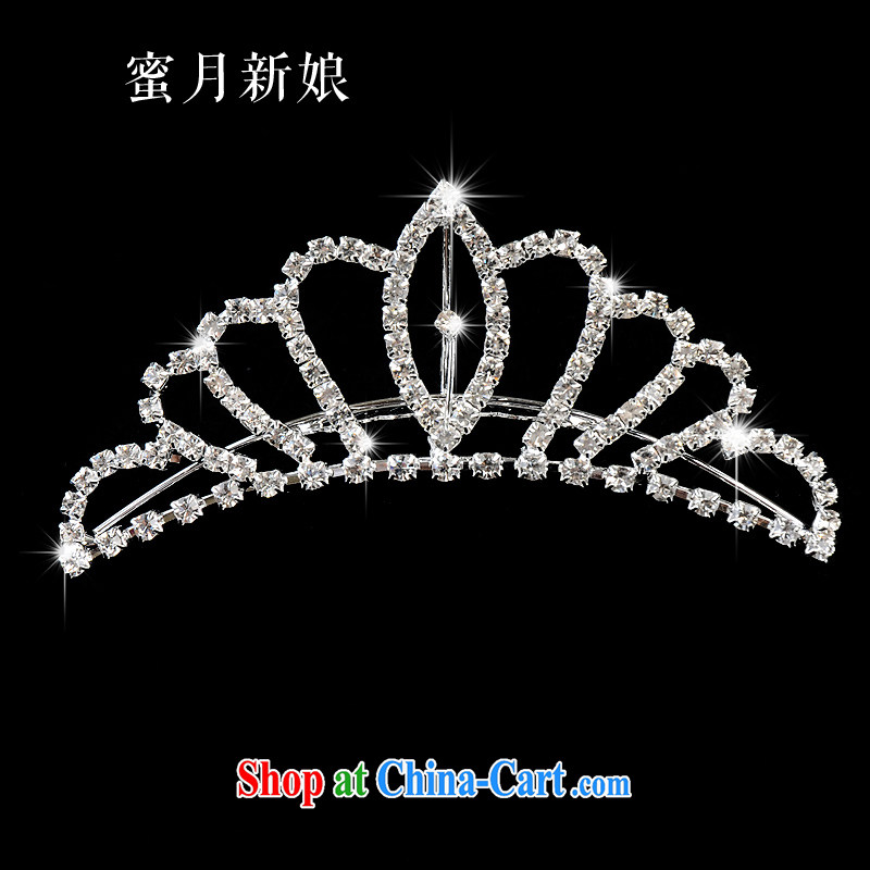 2015 honeymoon bridal bride Crown bridal jewelry bridal headdress bridal hair accessories the comb-style Crown white