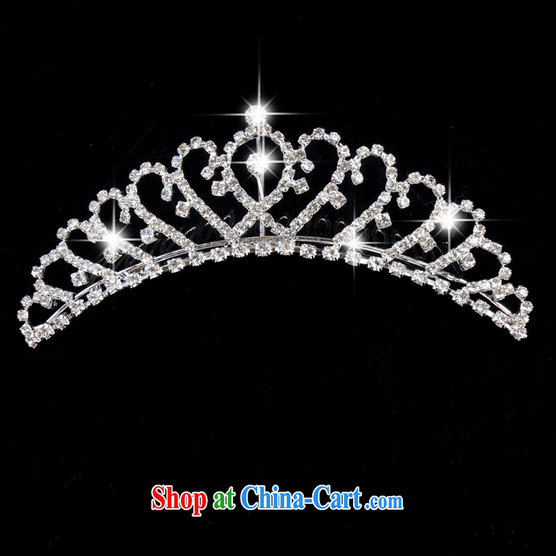 Honeymoon bride selling, ~bridal crown, full water drilling Crown ~breathtaking Crown Princess white