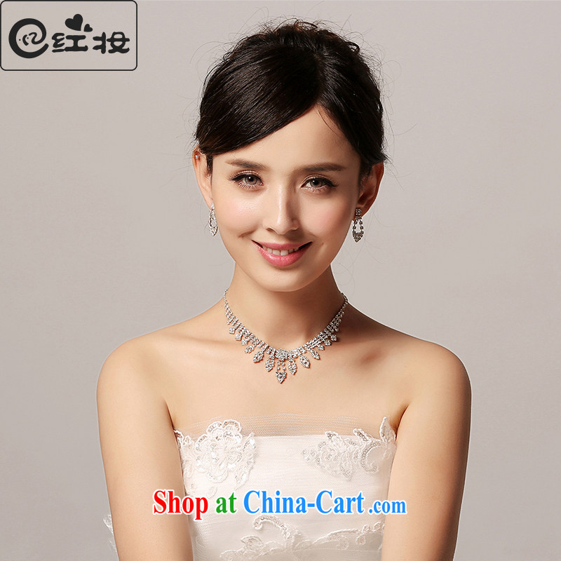 Recall that the red makeup 2015 new wedding bridal necklace water drilling trend special wedding dresses accessories jewelry P 10,115 white