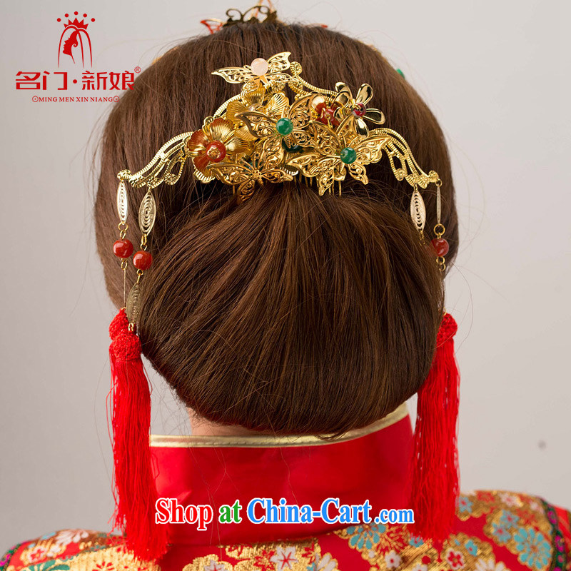 The bride's 2015 New Classic and New Year retro head-soo-wo Service head-dress-su 147