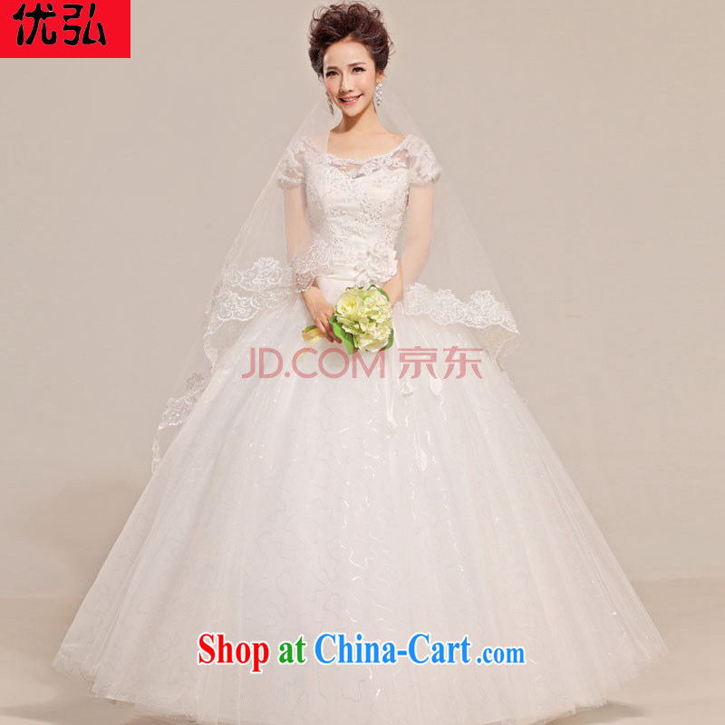Optimize video wedding a Field double-shoulder marriages with graphics thin sweet Princess 2014 new dresses XS spring 7150 white XL package