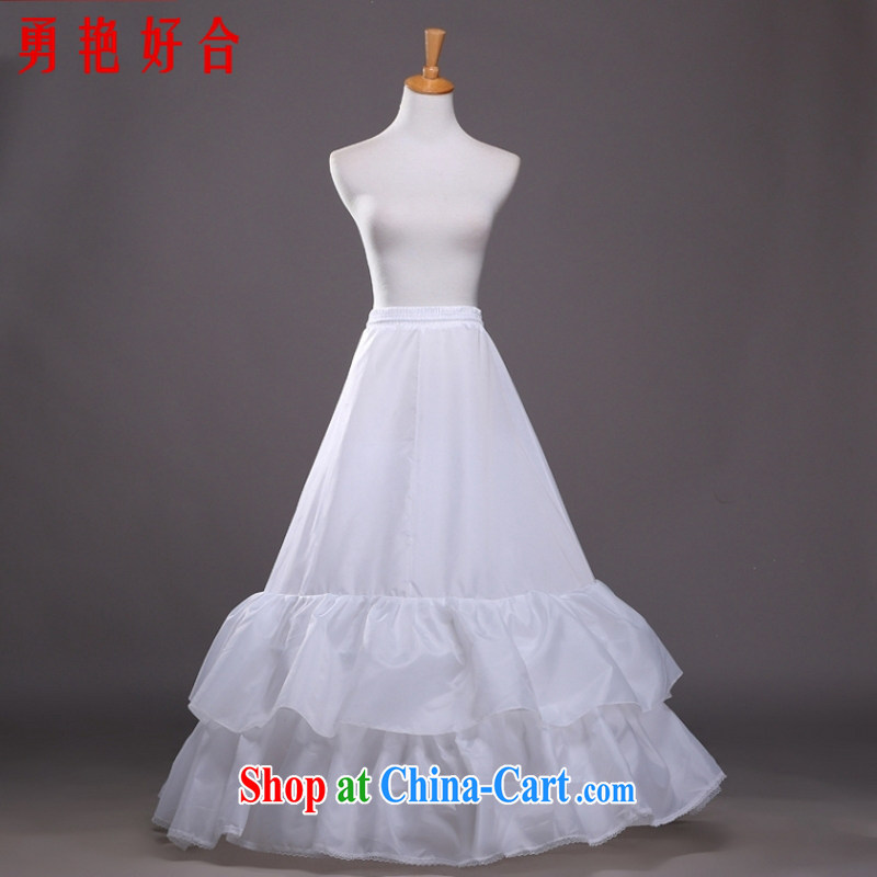 Yong-yan and wedding dresses skirt stays inch 2 Layer Cake try skirt spreader wedding accessories high quality white