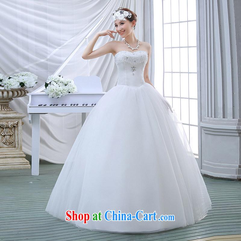 Flower Angel Cayman 2014 wedding dresses heart luxury crystal wiped ...