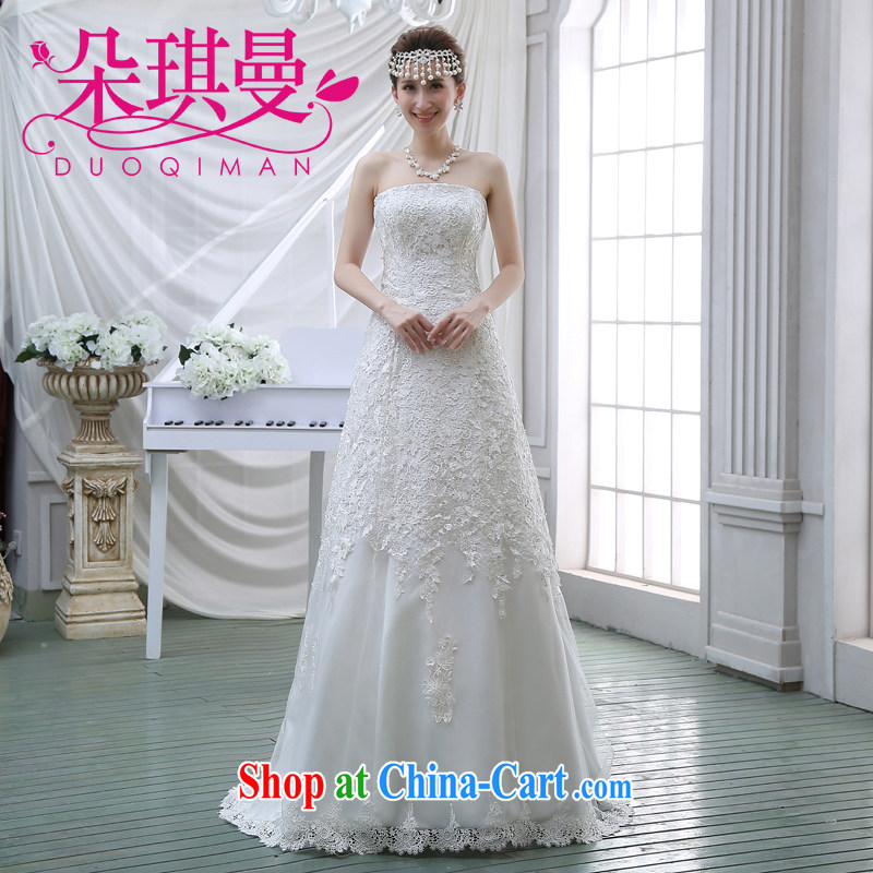 Flower Angel Cayman upscale wedding dresses 2014 new lace retro sexy small tail bride larger graphics thin wedding XXL
