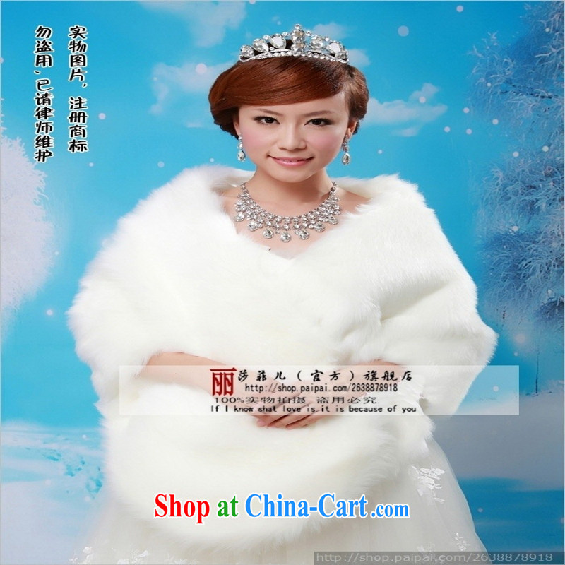 Bride's new luxury lady hair shawl wedding dresses and thick, shawl warm winter