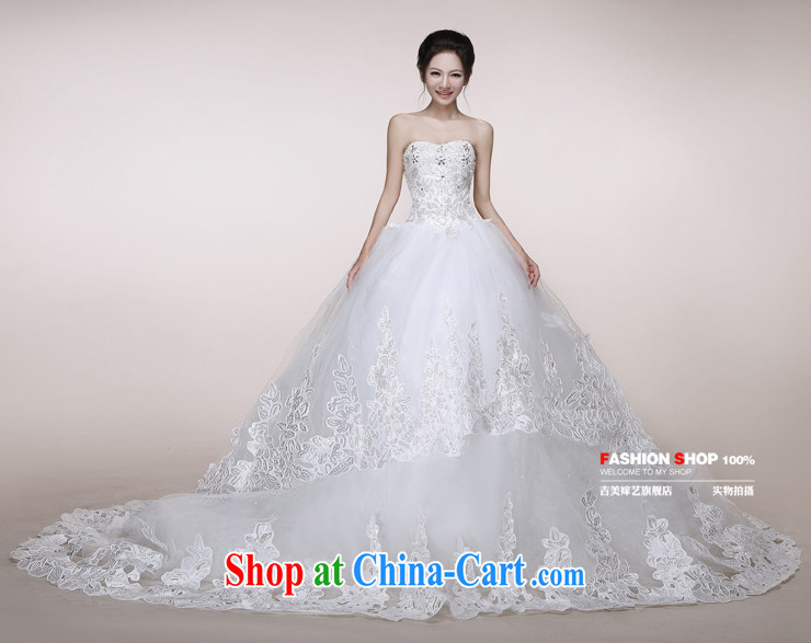 wedding dresses Jimmy married arts 2014 new erase chest Korean wedding canopy skirts tail HS 7523 bridal wedding ivory tail XXL pictures, price, brand platters! Elections are good character, the national distribution, so why buy now enjoy more preferential! Health