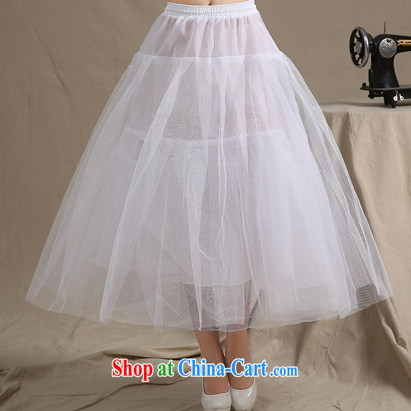 Let the day the bride's marriage to align tail wedding bone skirt stays the skirt with a princess petticoat 08 white, Dream of the day, shopping on the Internet