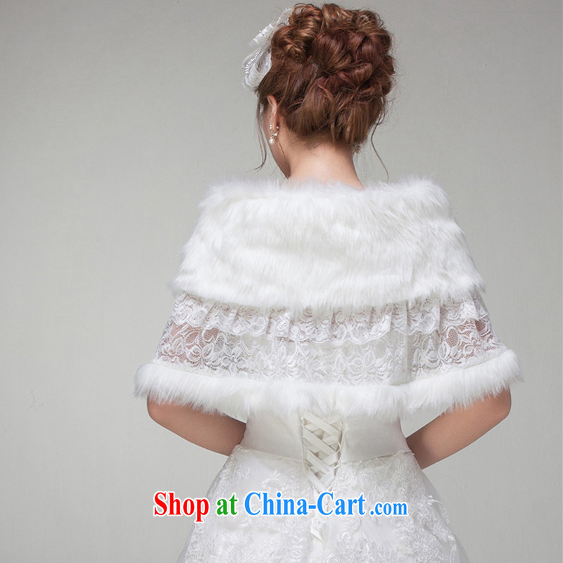 Flower Ki Cayman new marriage hair shawl warm winter shawl bridal wedding shawl larger shawl jacket, flower Angel Cayman (DUOQIMAN), shopping on the Internet