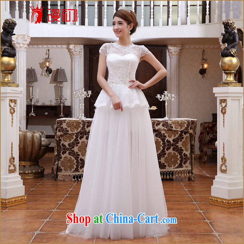 Early definition 2015 new wedding dresses two through Korea, Korean Princess bride removable tail wedding dresses and dragging XXL, diffuse, and shopping on the Internet