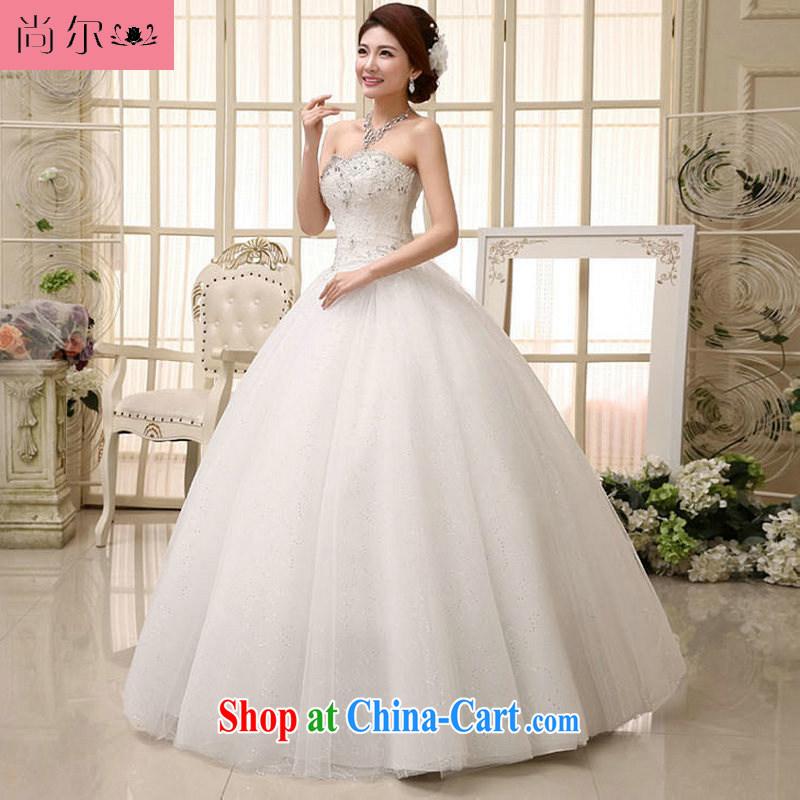 Still, 12,014 women bridal New with antique Korean light V for wedding dresses lace, Al 00,288 white XL