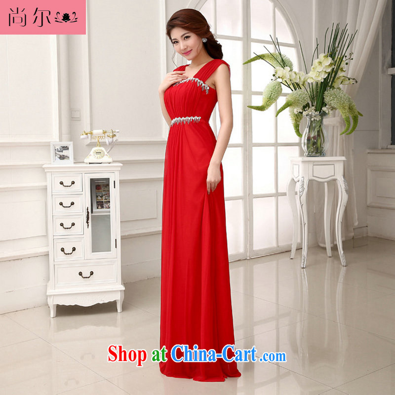 Still, 114 bridal bridesmaid wedding wedding long evening dress the betrothal, wedding toast Al serving 00,281 red XXL