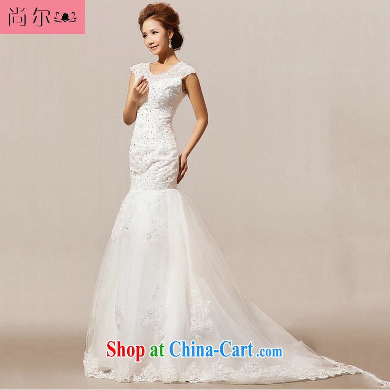 Still, 12,014 new wedding tail winter wedding Al 00,254 white XXL
