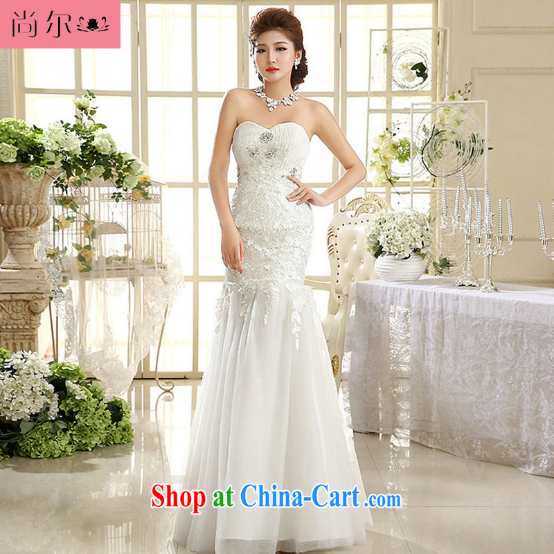 There's a new stylish erase chest lace crowsfoot with wedding Korean Beauty graphics thin crowsfoot wedding Al 00,301 white XXL