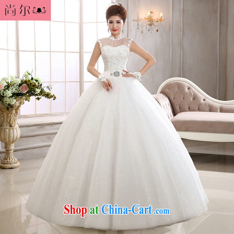 Still, 12,014 new Korean lace field shoulder Wedding Video thin marriages shoulders wedding Al 00,300 white XXL