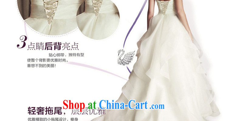 Honey, bride 2015 new wedding dresses Western style high-end small-tail retro wiped his chest and tied with a white XL pictures, price, brand platters! Elections are good character, the national distribution, so why buy now enjoy more preferential! Health