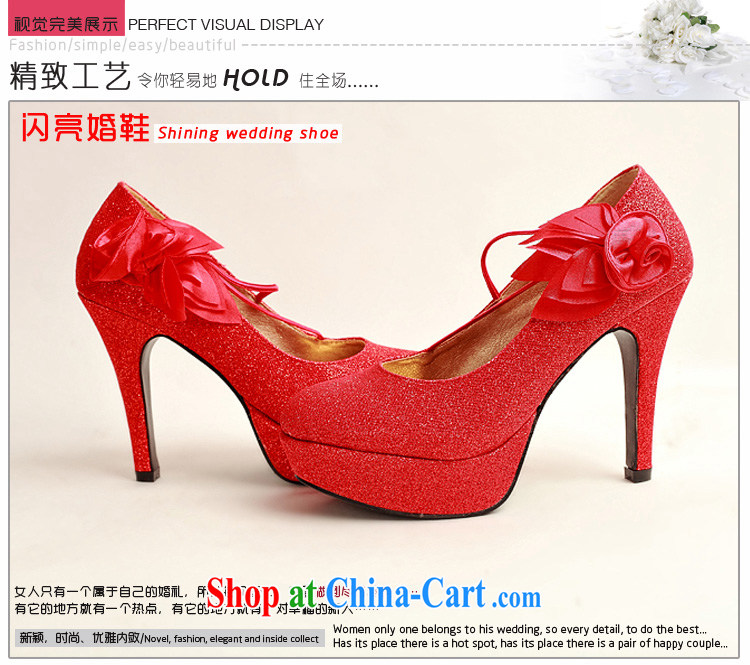 Flower Angel Cayman new wedding shoes sweet wedding shoes dress shoes bridal shoes banquet waterproof high with red women shoes 39 pictures, price, brand platters! Elections are good character, the national distribution, so why buy now enjoy more preferential! Health