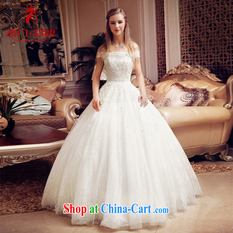 The bride's wedding dresses sweet Princess lace wedding canopy Princess Chulabhorn wedding bridal 801 M