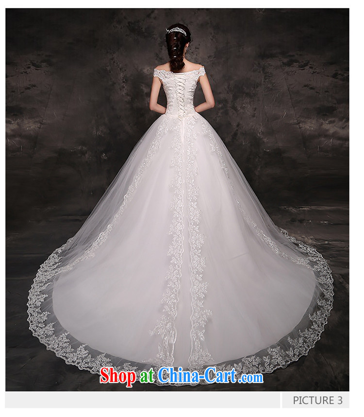 7 color 7 tone Korean version 2015 new wedding dresses video thin the Field shoulder lace tail marriages go nowhere yarn H 049 white with S pictures, price, brand platters! Elections are good character, the national distribution, so why buy now enjoy more preferential! Health