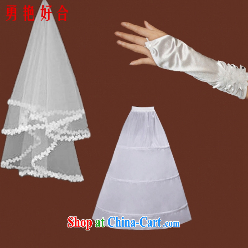 wedding accessories skirt stays gloves and yarn 3 piece wedding the mandatory white