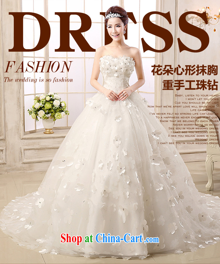 Jessica Covers Wedding Dresses New 2017 Erase Chest Tail Korean Beauty Waist Graphics Thin Lace