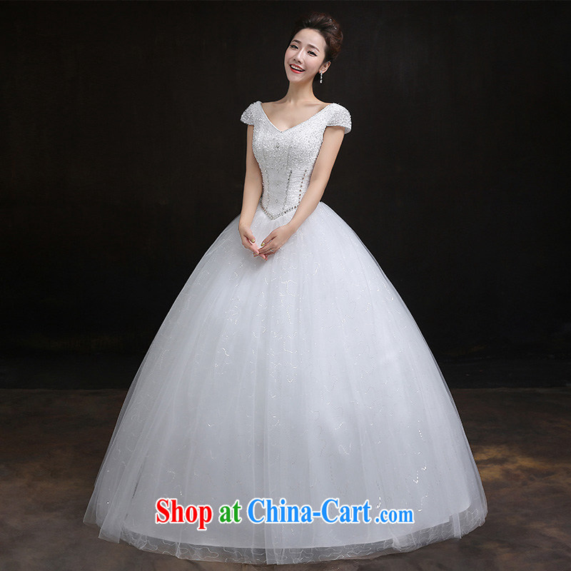 According to Lin Windsor wedding dresses new 2015 with retro Korean light V for wedding dresses with a waist graphics thin bridal wedding made all code