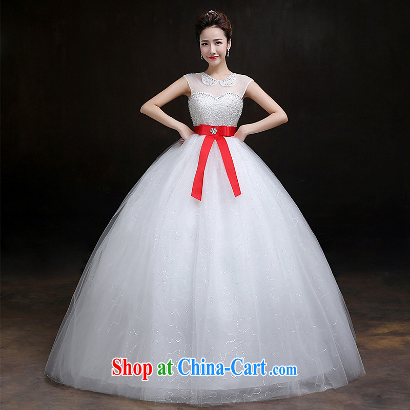 According to Lin Windsor wedding dresses new spring 2015 wedding dresses with stylish field shoulder Korean-style lapel retro graphics thin large code pregnant women wedding dresses are C