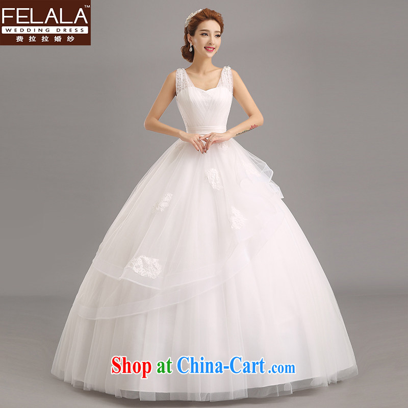 Ferrara 2015 new beaded water drilling marriages romantic sweet shaggy skirts XL (2 feet 2)