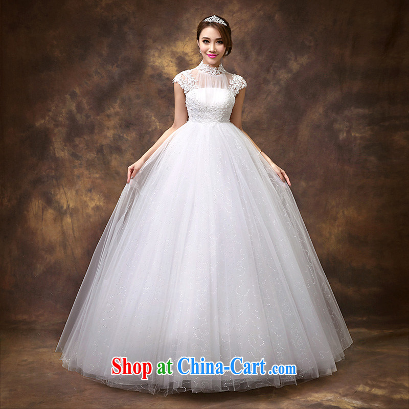 Pregnant women high-waist wedding 2015 new marriages Korean version with the beauty package shoulder Korean-style strap wedding tailored contact Customer Service