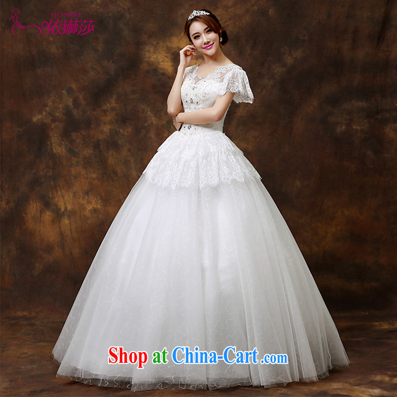 wedding dresses new 2015 with the Code bridal graphics thin lace a field shoulder short-sleeved wedding dresses tailored contact Customer Service