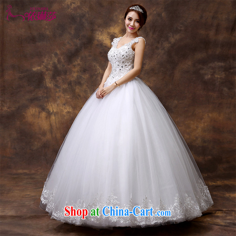 2015 new marriages wedding Korean-style field shoulder bridal decoration, graphics thin wedding dresses go with wedding tailored contact Customer Service
