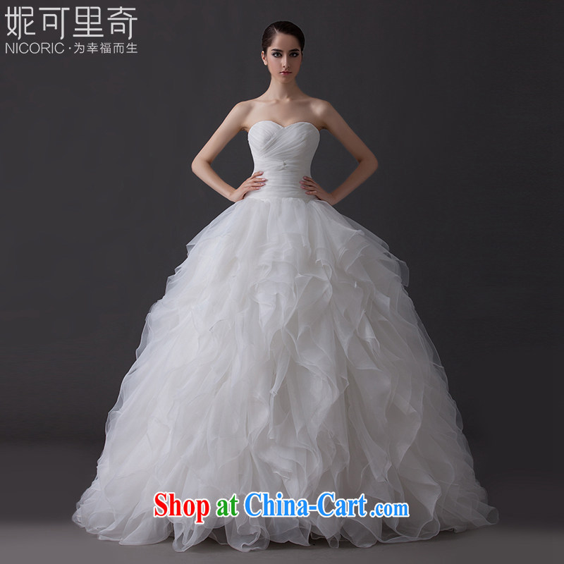Marriages wedding dresses new 2015 summer fashion wiped his chest to the waist graphics thin pregnant women the code _in stock 7 - 10 days shipping_ White advanced customization _15 day shipping_