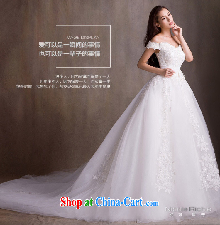 wedding dresses new 2015 spring fashion a shoulder wedding long-tail wedding bridal wedding wedding wedding, wedding band video thin wedding tail 200 CM advanced customization 15 day shipping pictures, price, brand platters! Elections are good character, the national distribution, so why buy now enjoy more preferential! Health